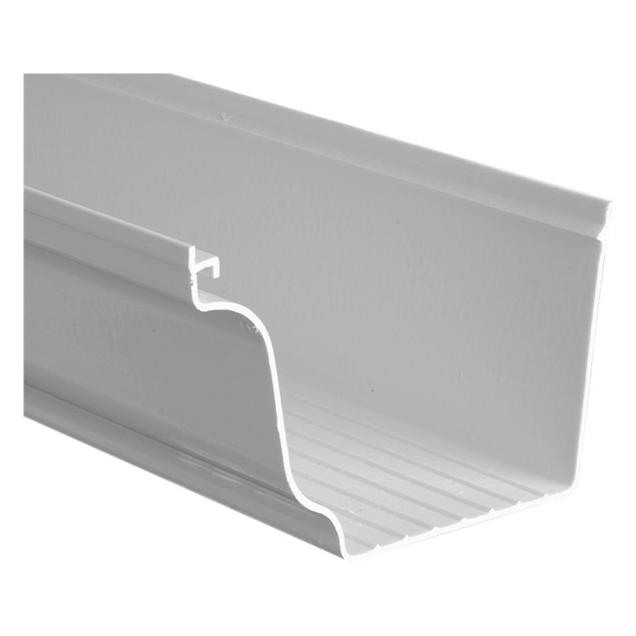 Shop Severe Weather 4 875 In X 120 In K Style Gutter At