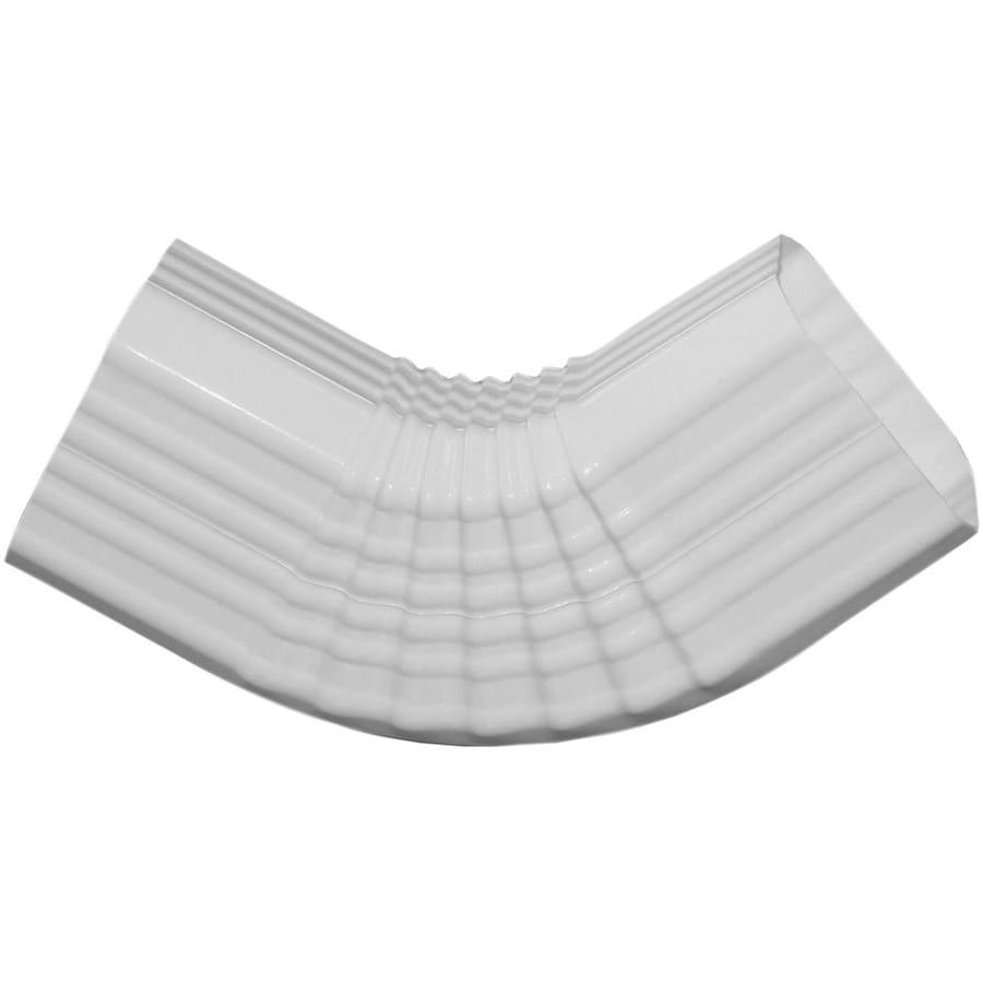 Genova 4.41-in White Vinyl Side Elbow