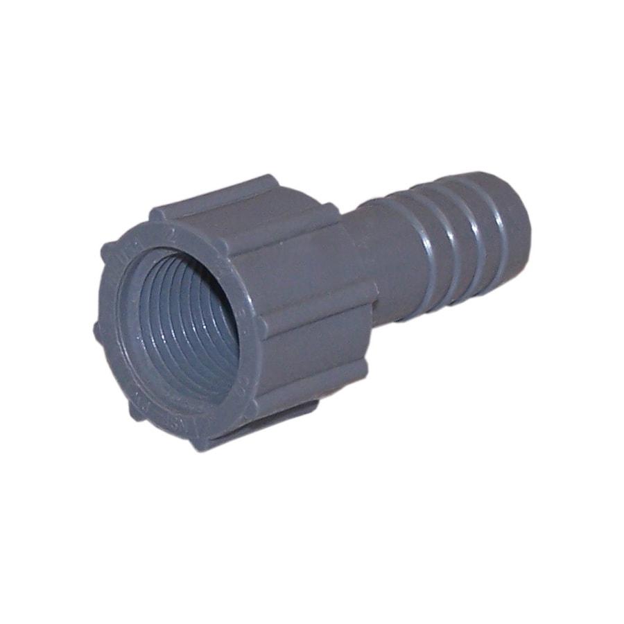Genova 1/2-in Dia Insert Adapter Plastic Coil Fittings