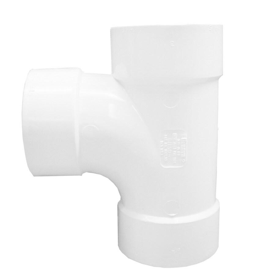 Genova 3-in Dia PVC Sanitary Tee Fitting