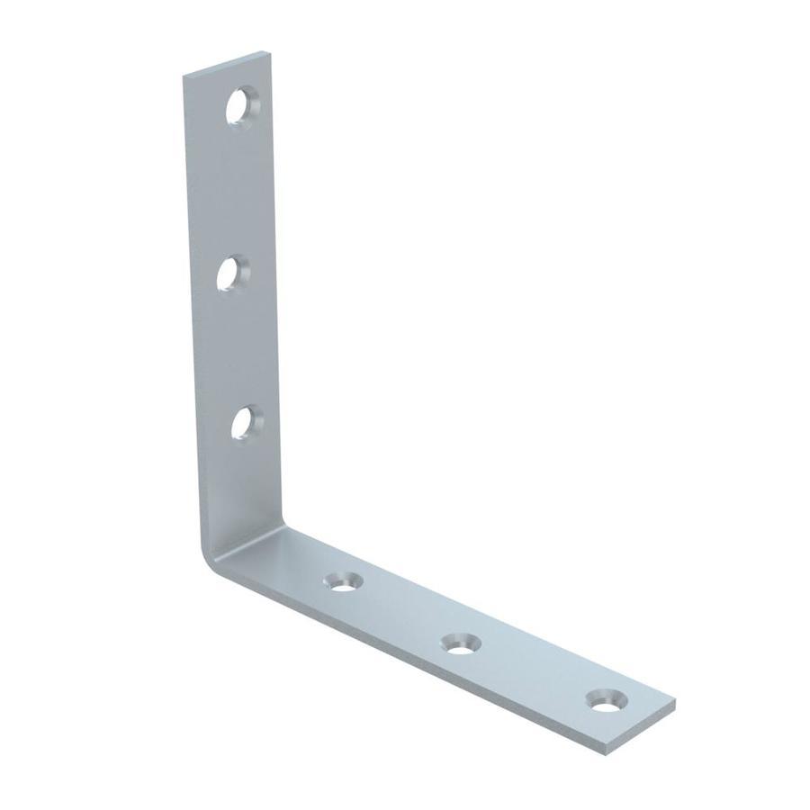 Stanley-National Hardware 5-in Zinc Corner Brace