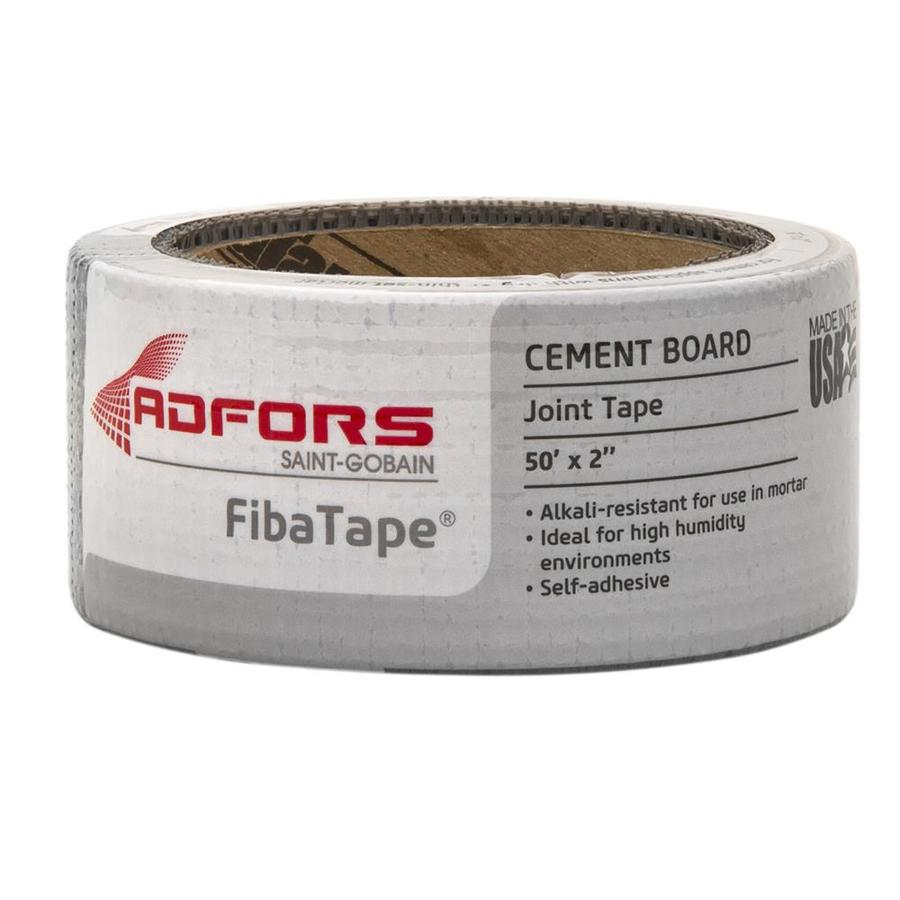 FibaTape Alkali-Resistant 2-in x 50-ft Mesh Construction Self-Adhesive Cement Board Tape