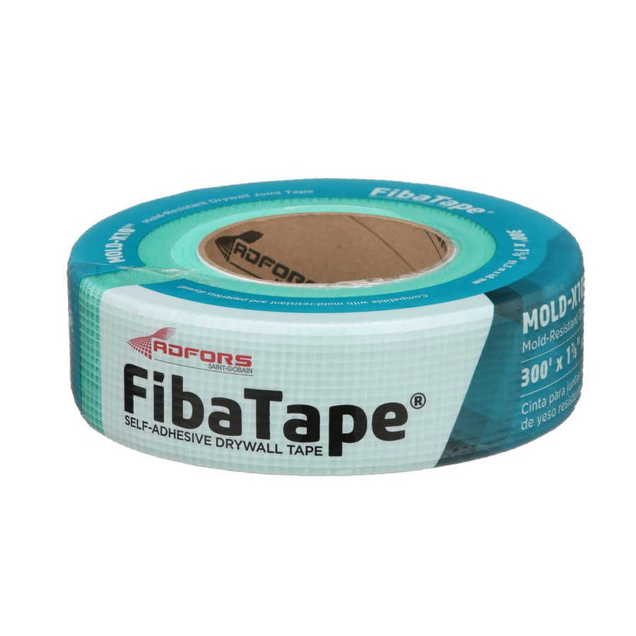 FibaTape 1.875-in x 300-ft Green Self-Adhesive Drywall Tape