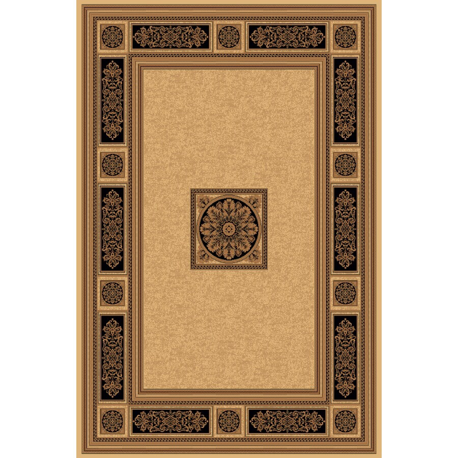 Natco Chateaux Rectangular Indoor Woven Area Rug (Common: 5 x 8; Actual: 63-in W x 91-in L)
