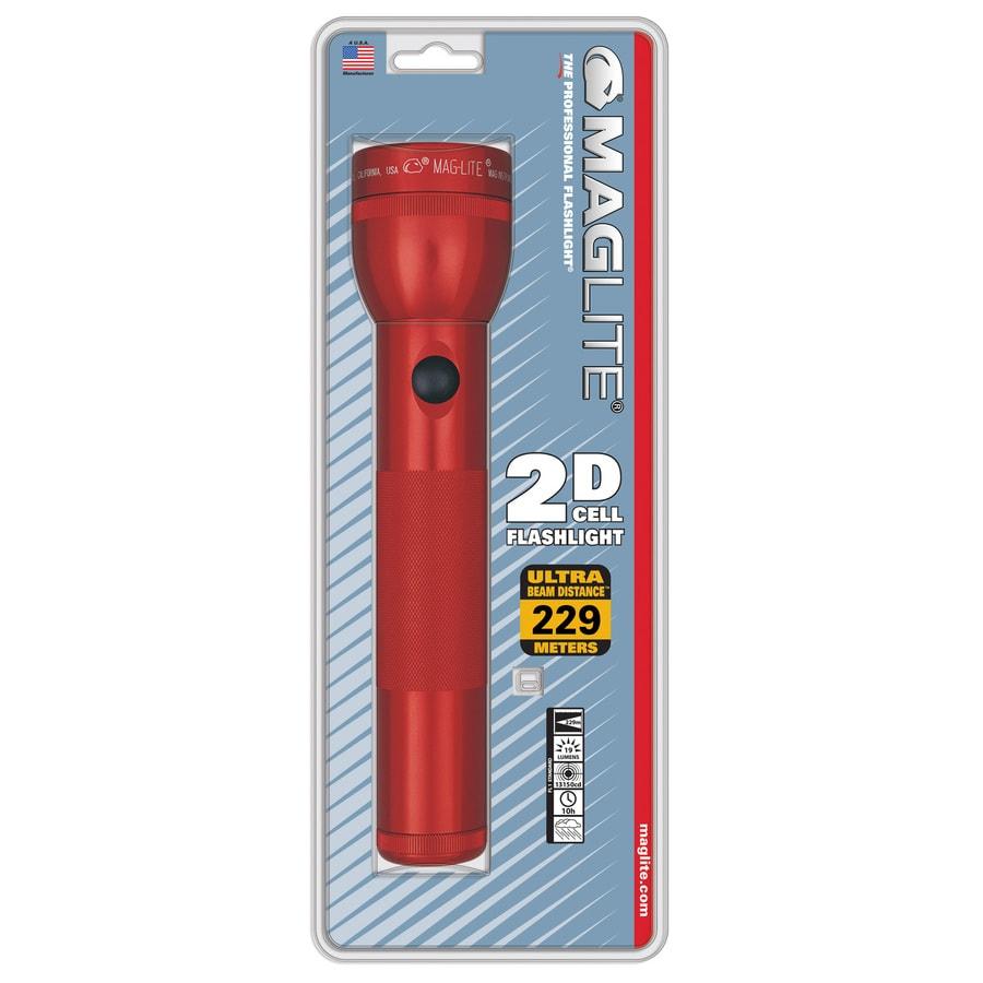 Maglite 19-Lumen Incandescent Handheld Battery Flashlight