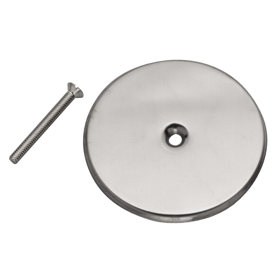 Oatey Fits Pipe Size 4-in Dia Stainless Steel Cover Plate