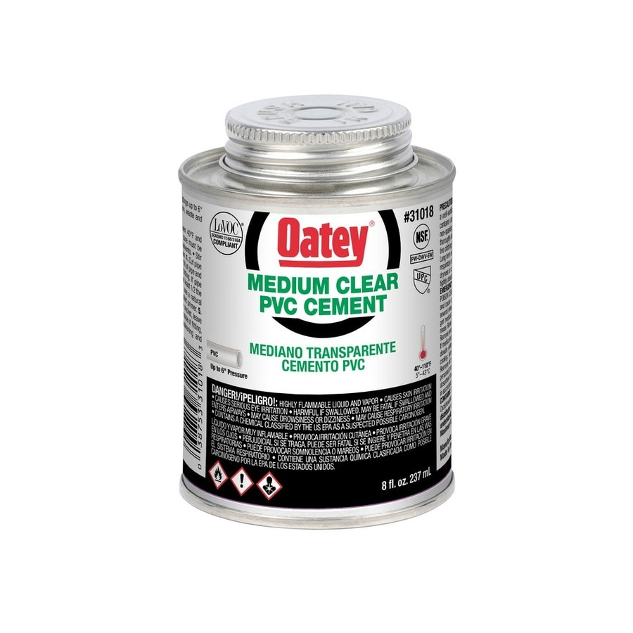 Oatey 8-fl oz PVC Cement