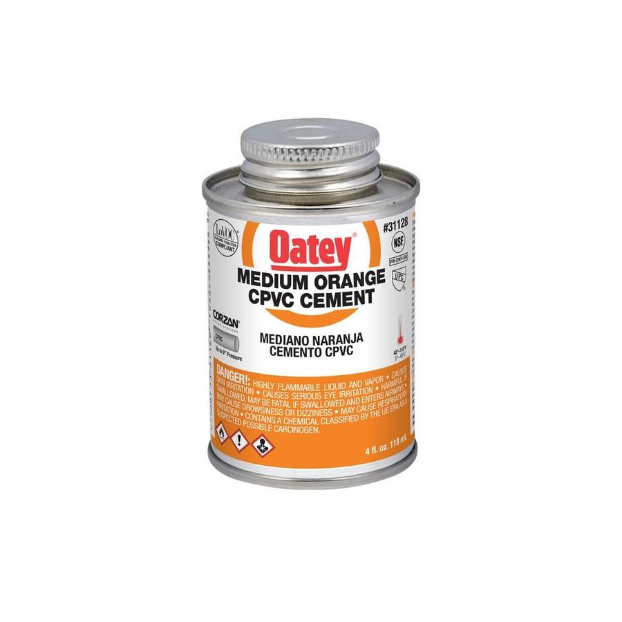 Oatey 4 fl oz LO-VOC CPVC Cement