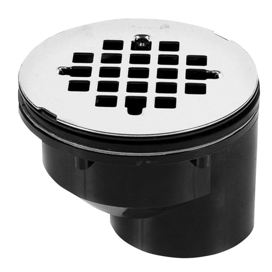 Oatey 2-in Dia Black ABS Shower Drain