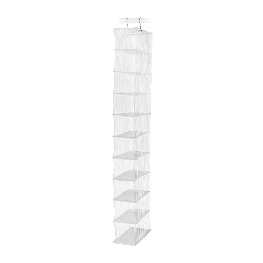 Style Selections 10-Pair Clear Plastic Over-The-Door Organizer