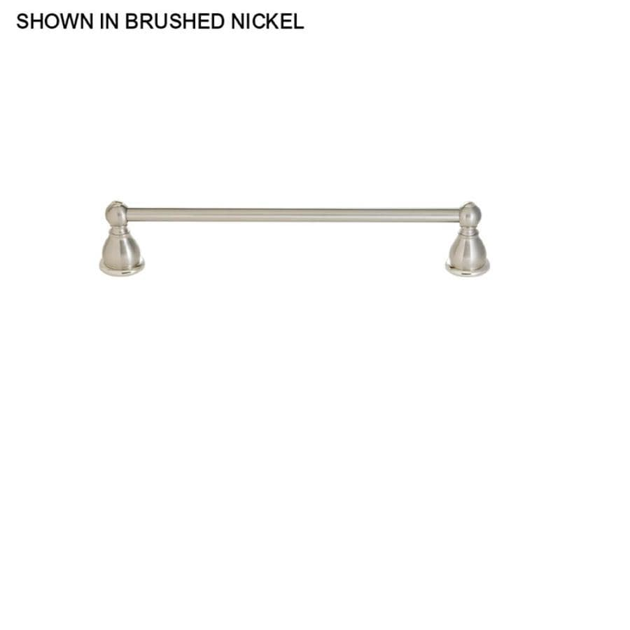 Pfister Conical Brushed Nickel Single Towel Bar (Common: 18-in; Actual: 20-in)