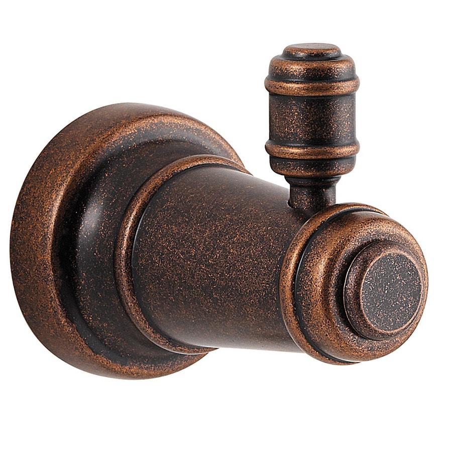 Pfister Ashfield 1-Hook Rustic Bronze Robe Hook