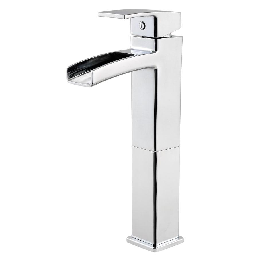Single Hole Single Handle Bathroom Faucet : ... Kenzo Polished Chrome 1-Handle Single Hole WaterSense Bathroom Faucet