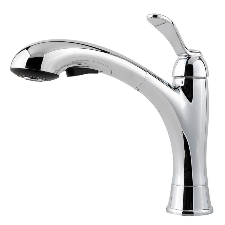 Pfister Clairmont Polished Chrome 1-Handle Pull-Out Kitchen Faucet