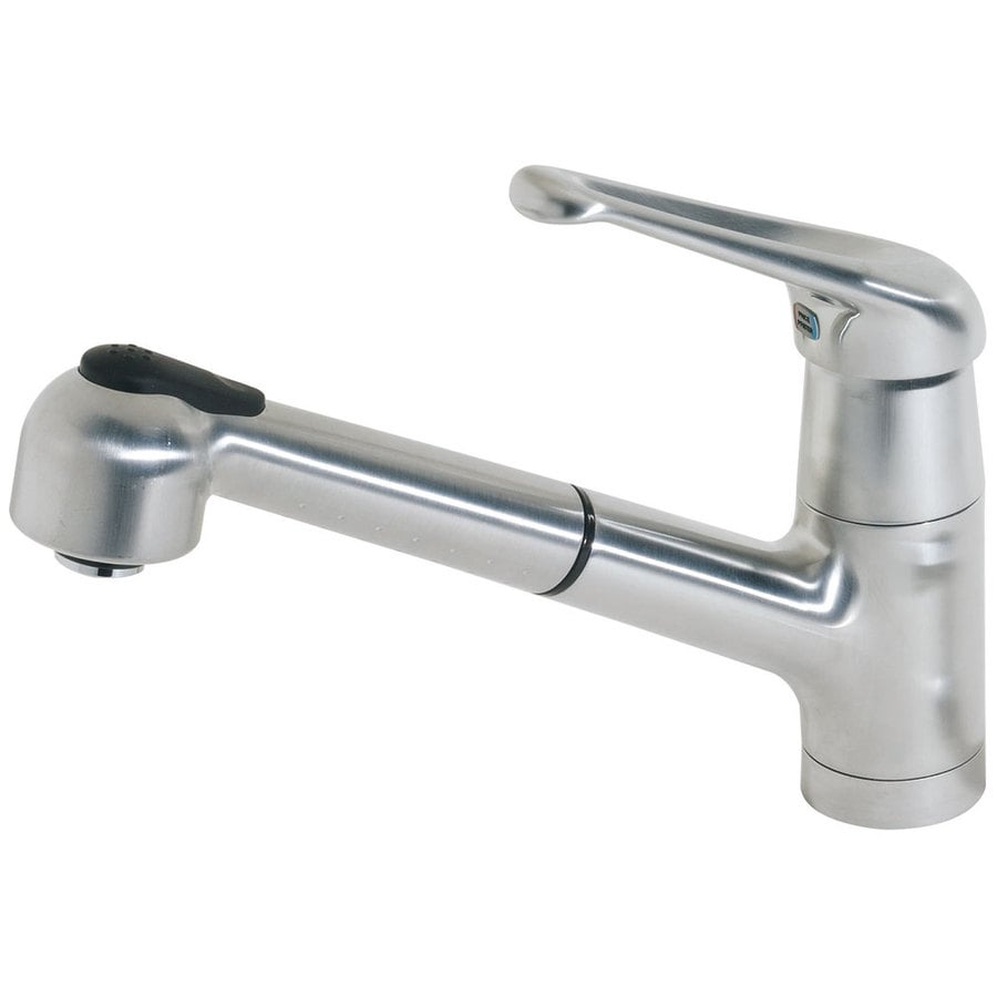 Pfister Genesis Stainless Steel 1-Handle Pull-Out Kitchen Faucet