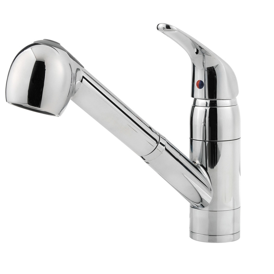 Shop pfister pfirst series polished chrome 1 handle pull - Lowes price pfister bathroom faucets ...