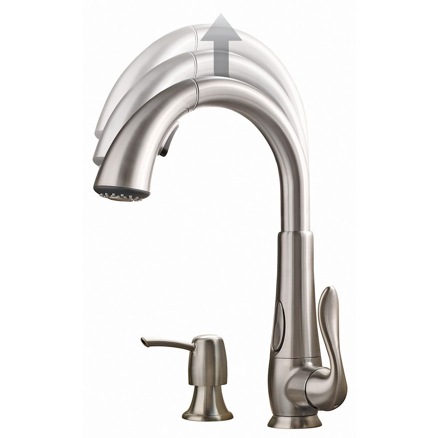 Pfister Elevate Stainless Steel 1-Handle Pull-Down Kitchen Faucet