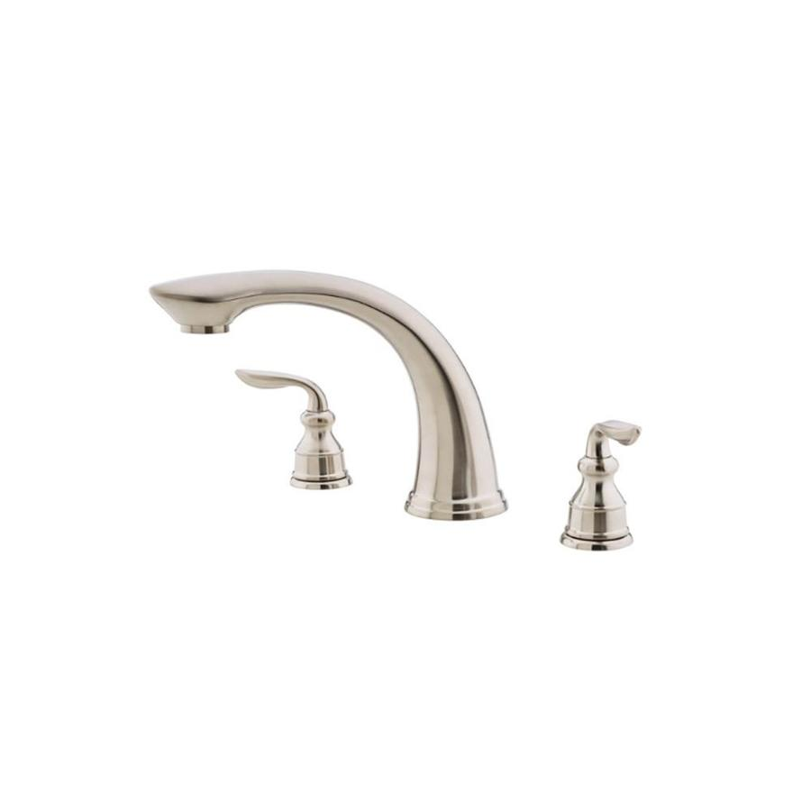 Pfister Avalon Brushed Nickel Fixed Deck Mount Tub Faucet