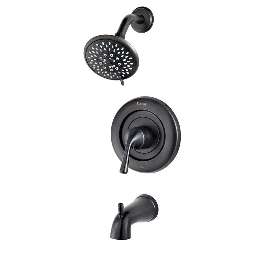 shop pfister universal trim tuscan bronze 1 handle bathtub and shower faucet trim kit with multi. Black Bedroom Furniture Sets. Home Design Ideas