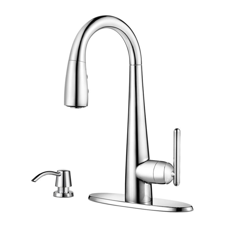 Pfister Lita Chrome 1-Handle Bar and Prep Faucet
