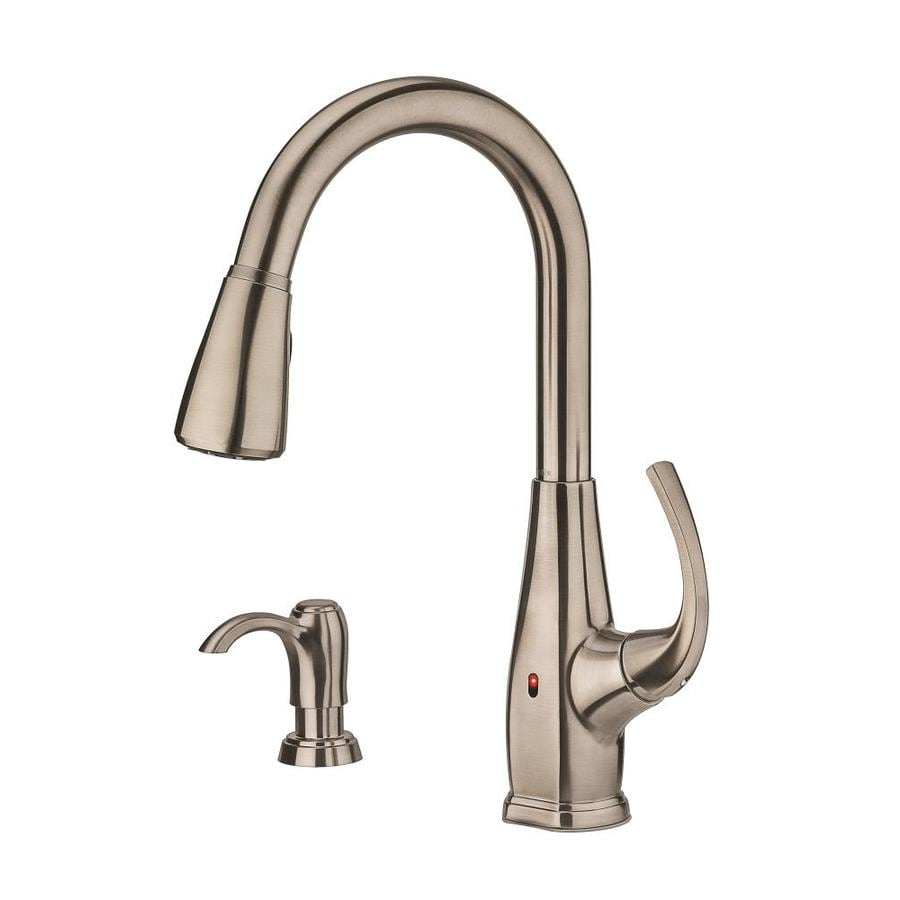 Pfister Selia Stainless Steel 1-Handle Pull-Down Touchless Kitchen Faucet