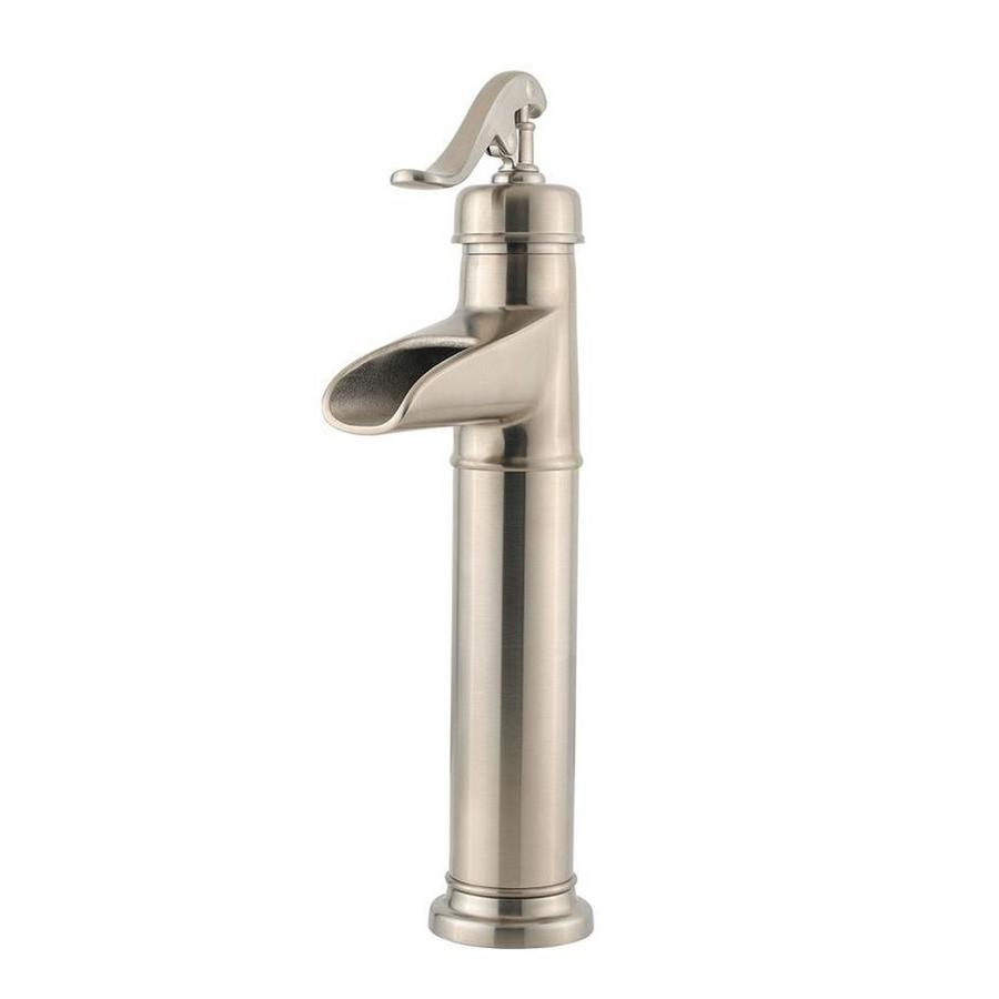 Pfister Ashfield Brushed Nickel 1-Handle Single Hole WaterSense Bathroom Faucet