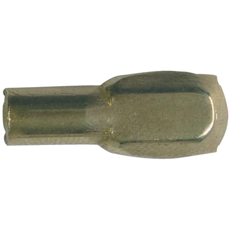 Blue Hawk 8-Pack 5mm Brass Spoon Shelving Hardware