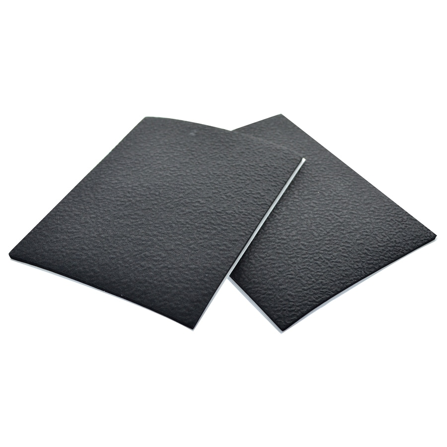 The Hillman Group 4-in x 5-in Black Rubber Pads