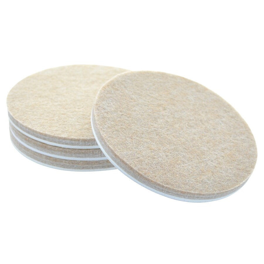 The Hillman Group 3-in Round Felt Pad