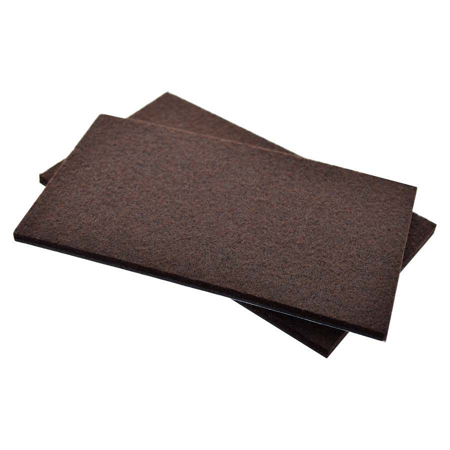 The Hillman Group 3.5-in Rectangular Felt Pad