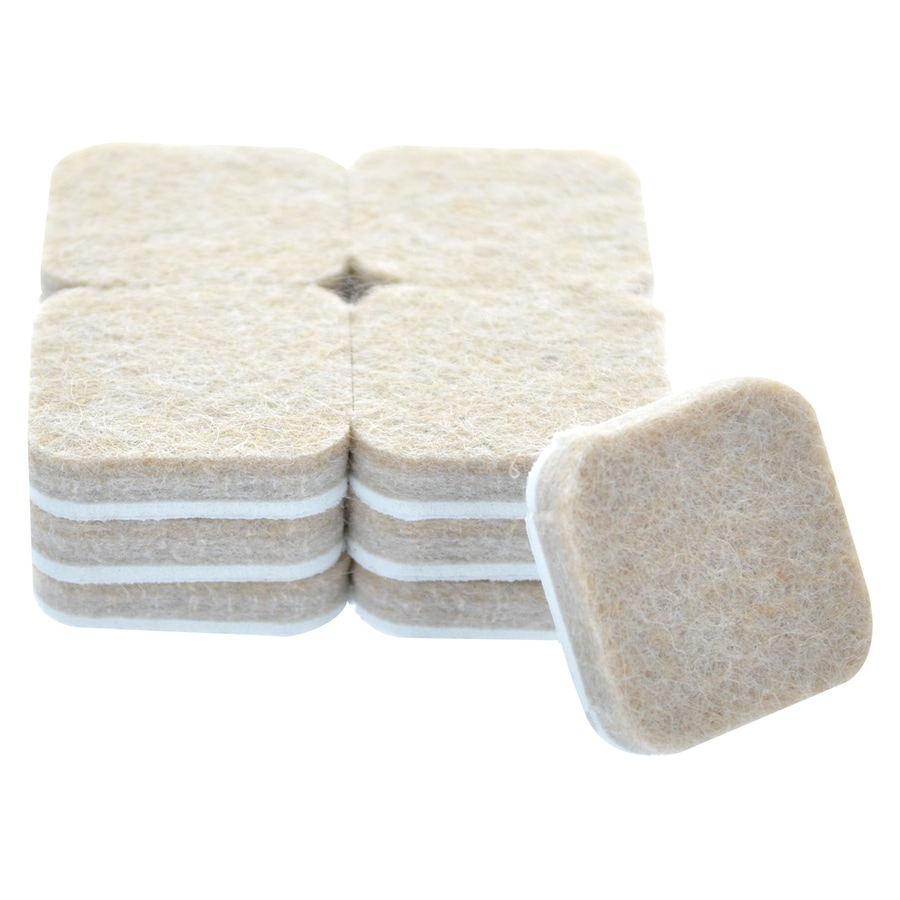 The Hillman Group 1-in Square Felt Pad
