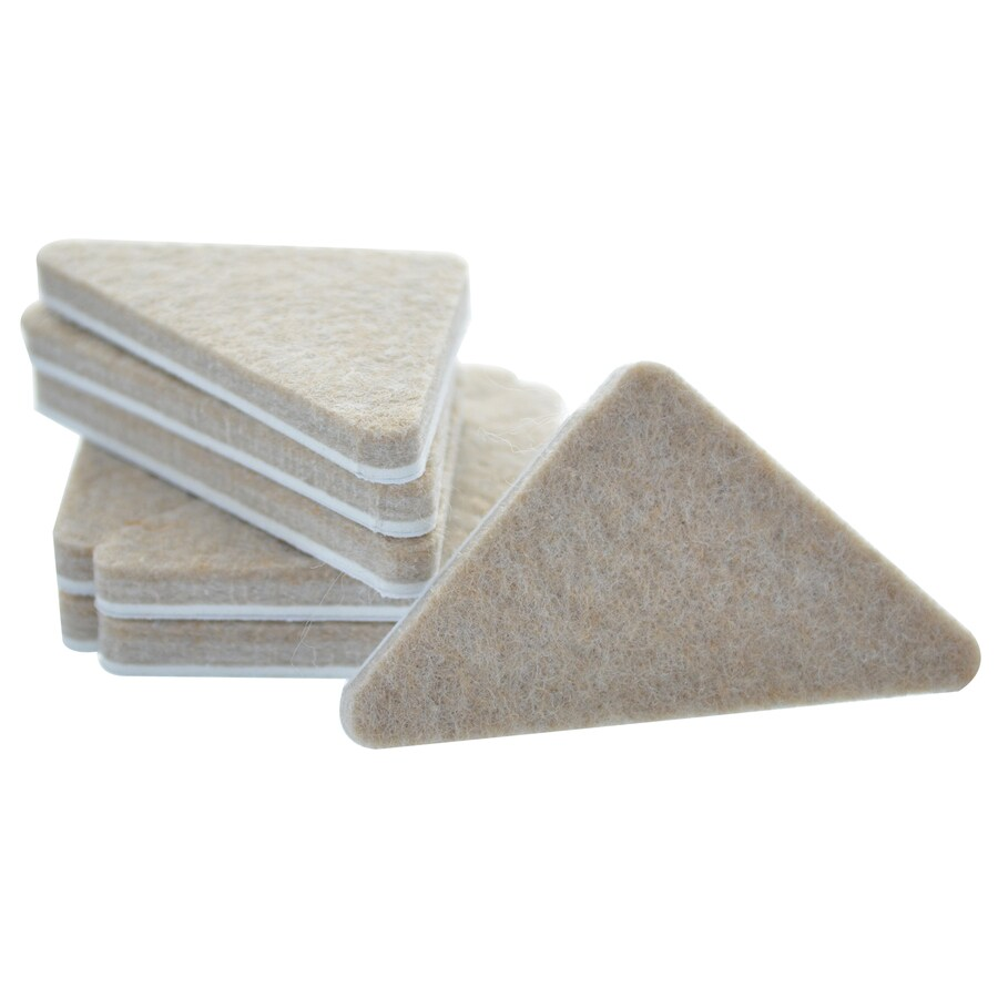 The Hillman Group 1.75-in Triangular Felt Pad