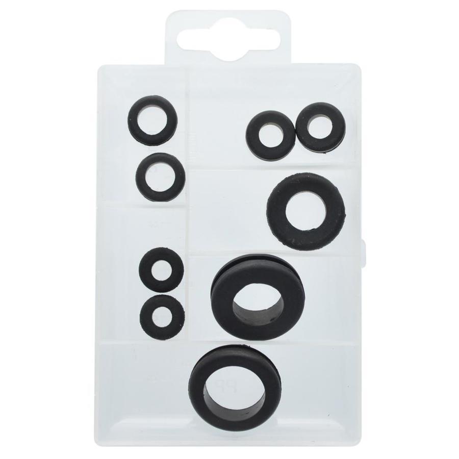 The Hillman Group Rubber Grommet Assortment Fastener Kit