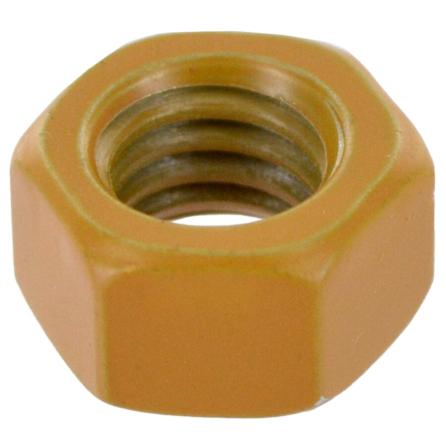 Deck Plus 1/4-in Coated Standard (SAE) Hex Nut