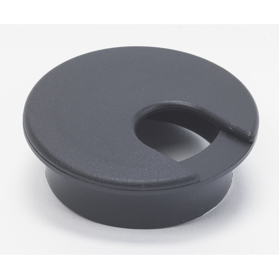 SERVALITE 2-in Plastic Desk Grommet