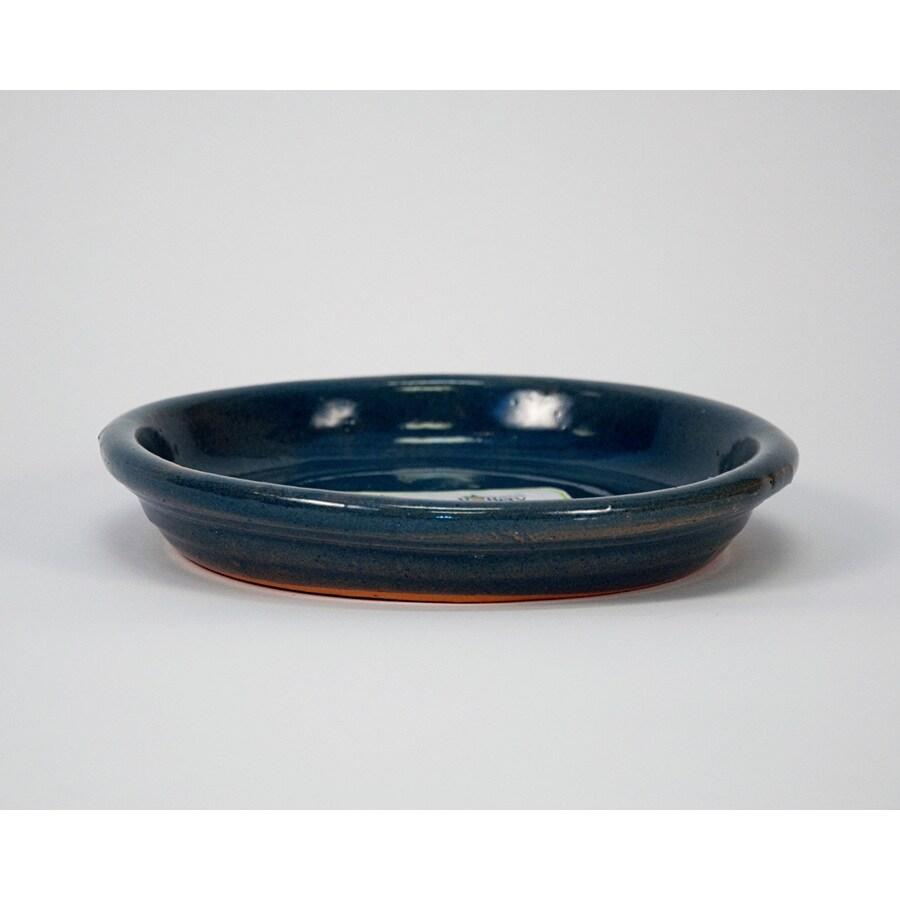 New England Pottery 8.5-in Dia Glazed Ceramic Plant Saucer