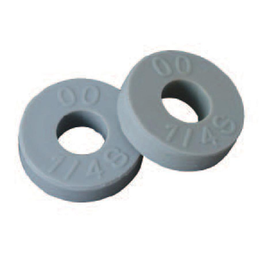 BrassCraft 2-Count 1/4-in x 1/2-in Rubber Standard (SAE) Flat Washer