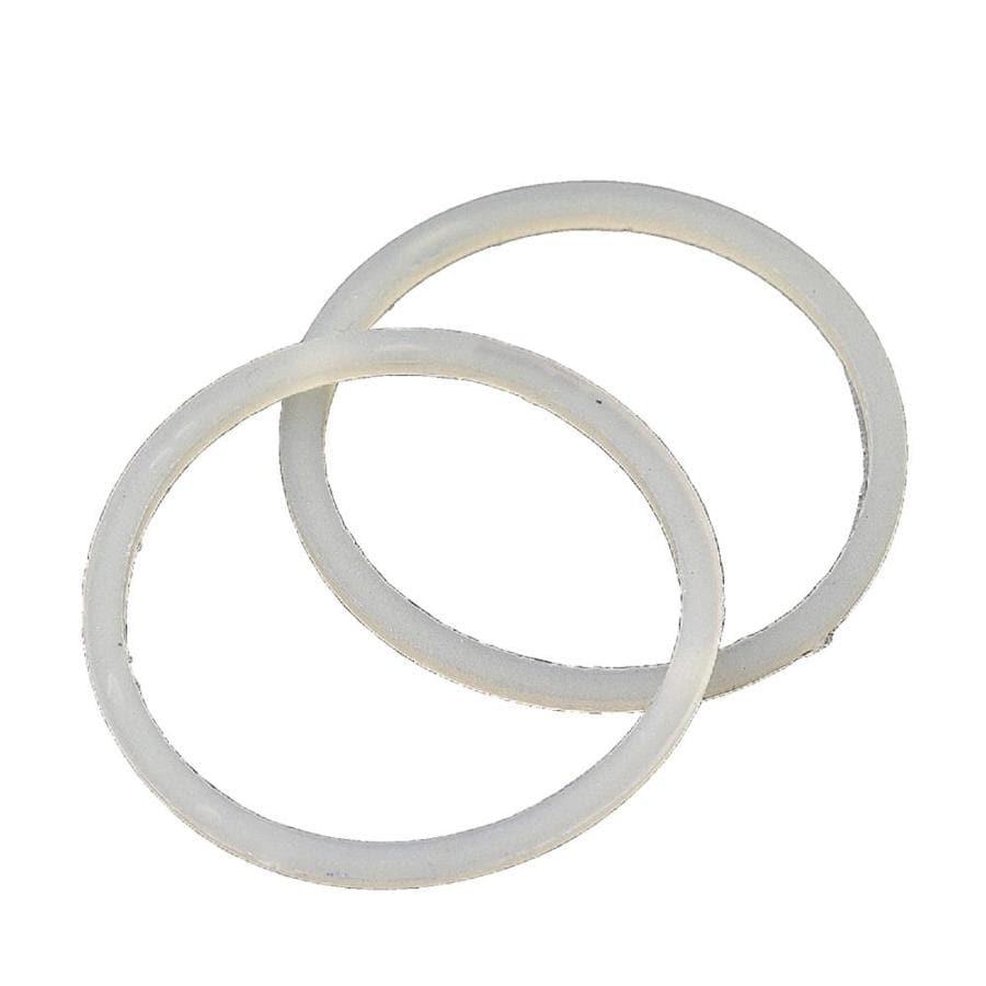 BrassCraft 2-Pack 1-1/8-in Plastic Cap Thread Gasket