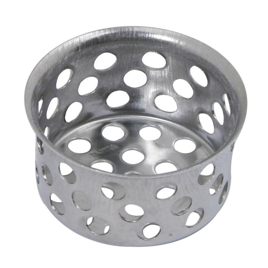BrassCraft 1-in Chrome Stainless Steel Kitchen Sink Strainer Basket
