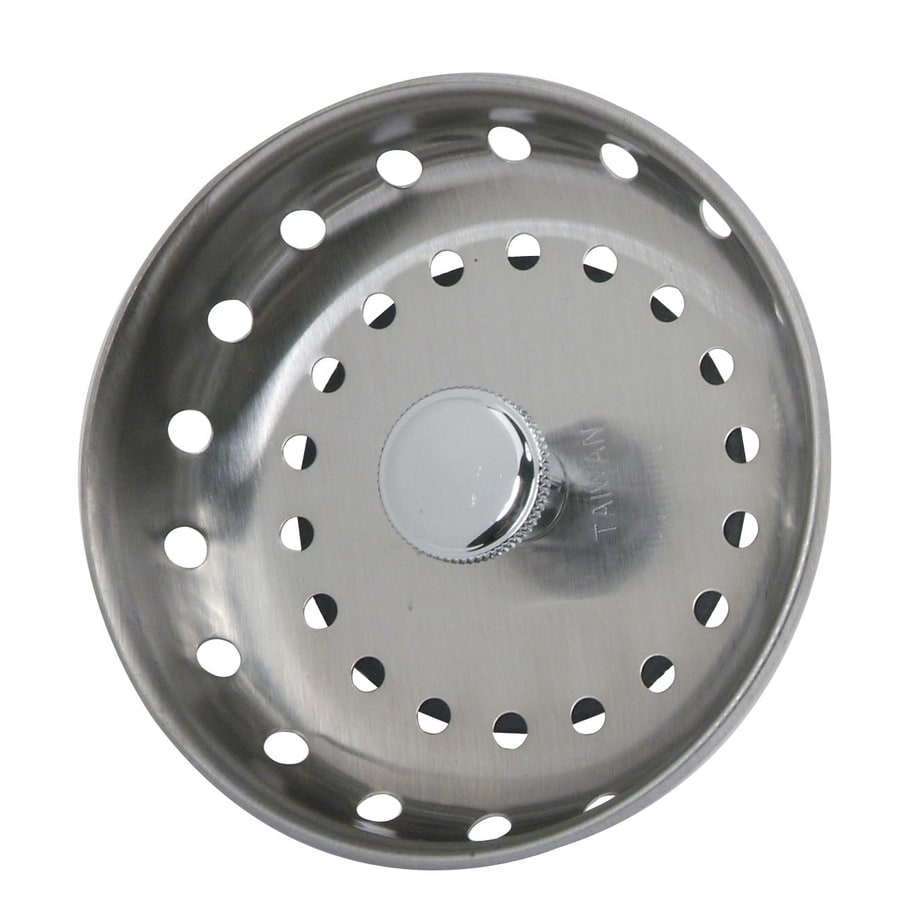 BrassCraft 3.5-in Stainless Steel Fixed Post Kitchen Sink Strainer