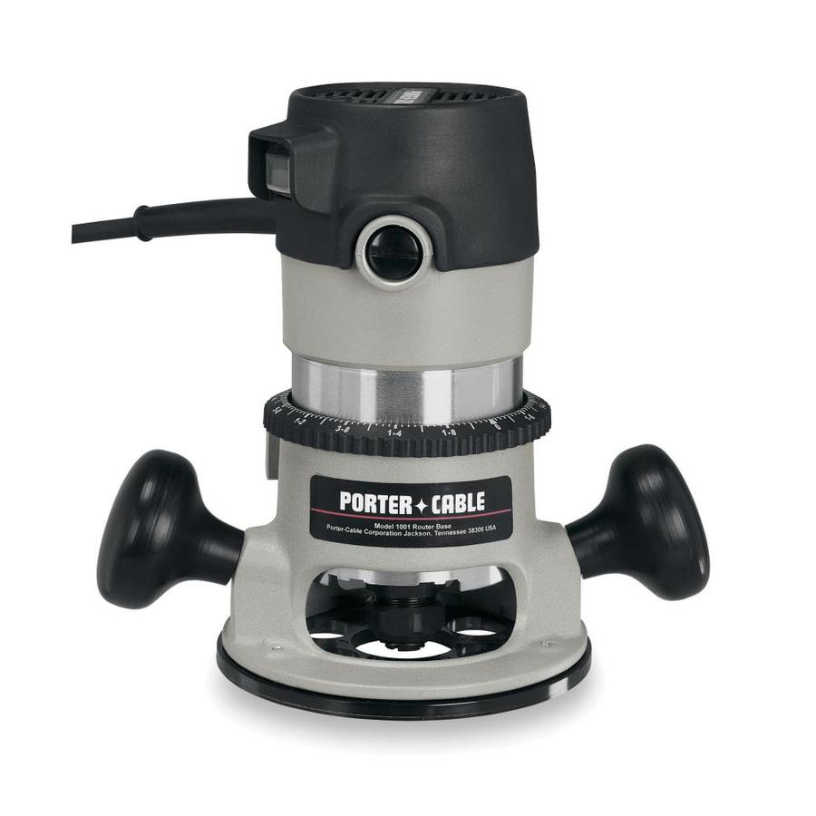 PORTER-CABLE 1.75-HP Fixed Corded Router