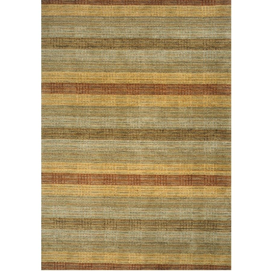 Momeni Austin Rectangular Multicolor Transitional Woven Wool Area Rug (Common: 8-ft x 11-ft; Actual: 8-ft x 11-ft)