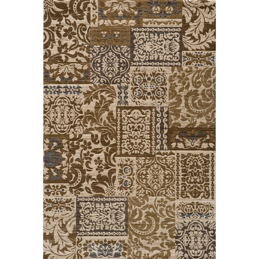 Momeni Fulton Ivory Rectangular Indoor Woven Area Rug (Common: 4 x 6; Actual: 47-in W x 67-in L)