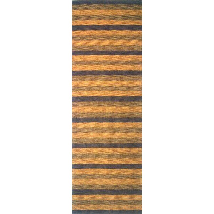Momeni Multicolor Woven Runner (Common: 2-ft x 8-ft; Actual: 2.25-ft x 8-ft)