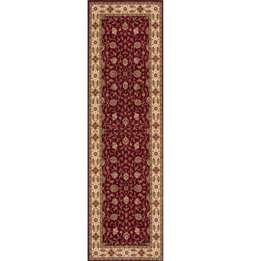 Momeni Red Woven Runner (Common: 2-ft x 8-ft; Actual: 2.5-ft x 8-ft)