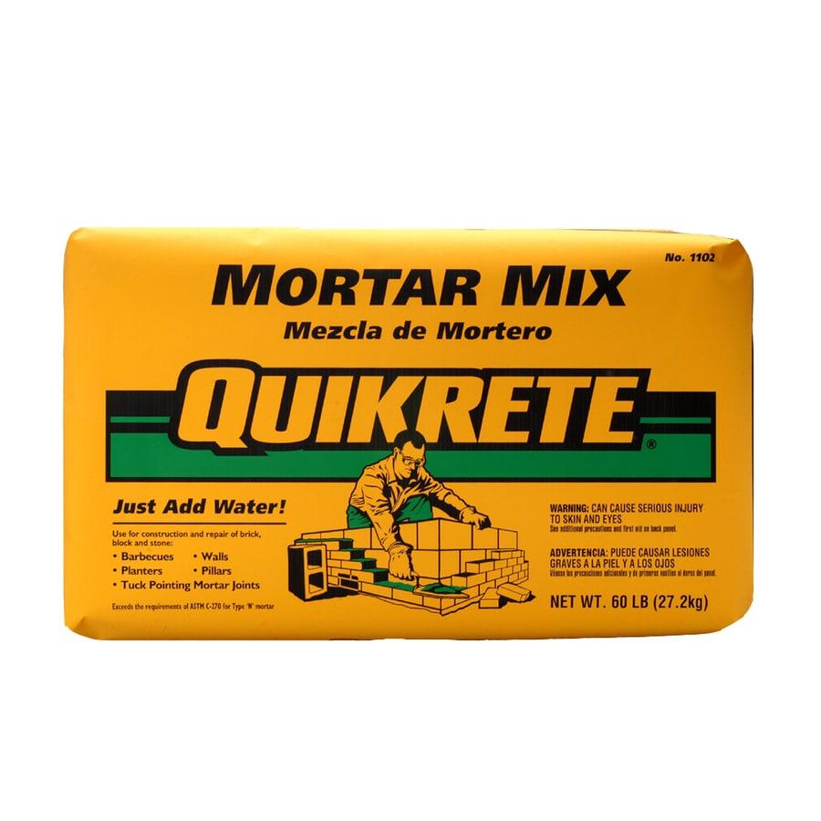 QUIKRETE 60-lb Gray Type-N Mortar Mix