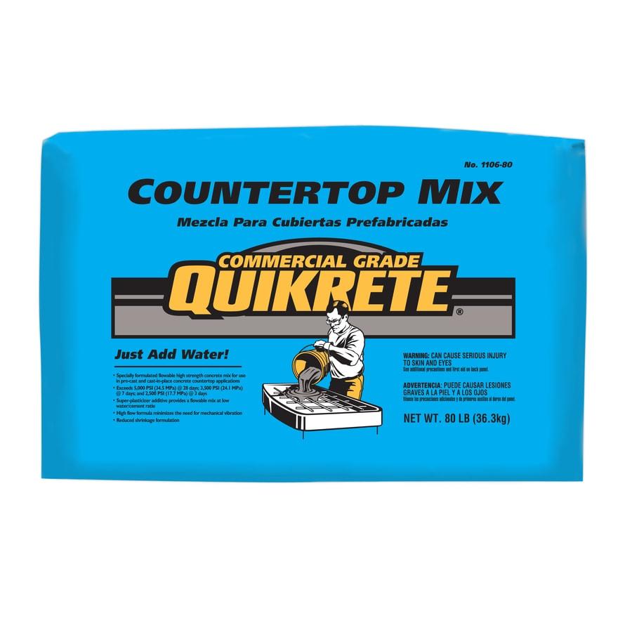 QUIKRETE 80-lbs Countertop Mix