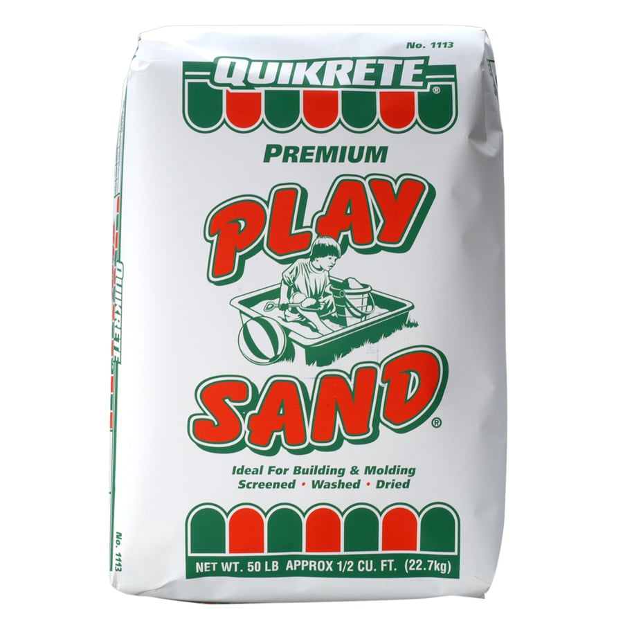 QUIKRETE 50-lbs Play Sand