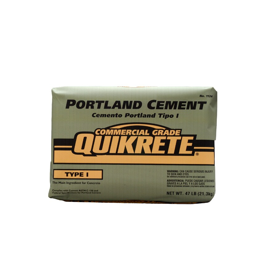 QUIKRETE Portland 47-lb Gray Type-I/II Cement Mix