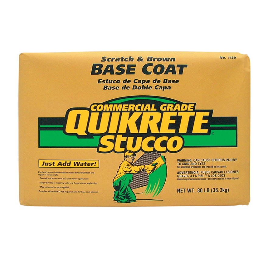 QUIKRETE 60-lb Premixed Base Coat Stucco Mix